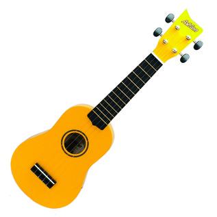 Ashton UKE100 Concert Ukulele, Yellow