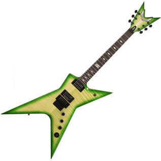 Dean Dimebag Stealth Floyd DS Electric Guitar, Dime Slime