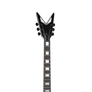 Dean V Stealth Electric Guitar, Black Satin