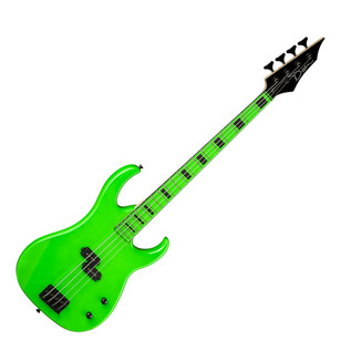 Dean Custom Zone Bass Guitar, Nuclear Green