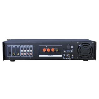 NJS PA2060100 60W RMS 100V PA Mixer Amplifier, Rear