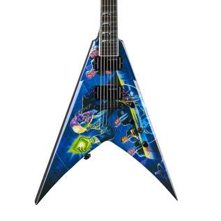 Dean V Dave Mustaine Electric Guitar, Rust In Peace