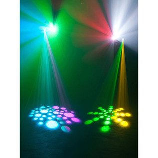 ADJ Inno Pocket Spot Twins Moving Head LEDs