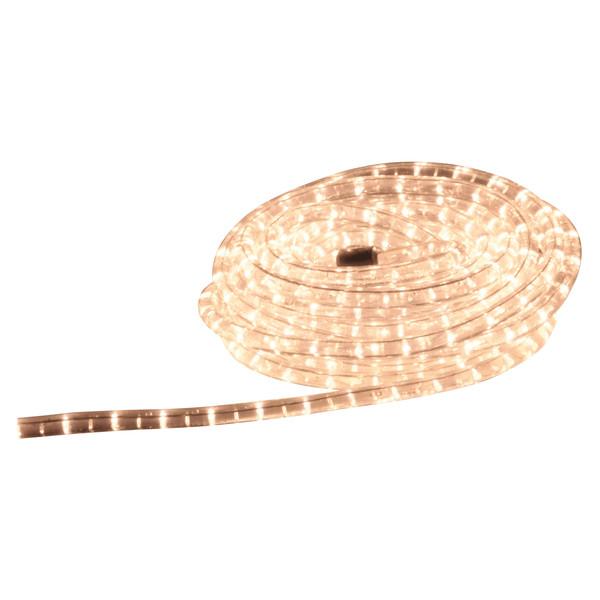 Eagle Static LED Rope Light, Ice White, 9m