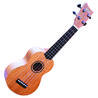 Ashton UKE300S Ukulele Soprano, Top in mogano massello