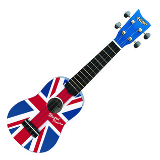 Ashton Union Jack Concert Ukulele