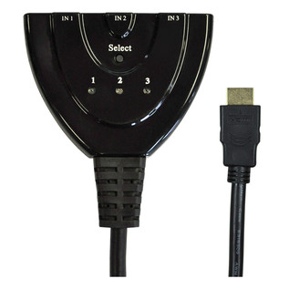 Electrovision 3 Way In-line HDMI Input Selector