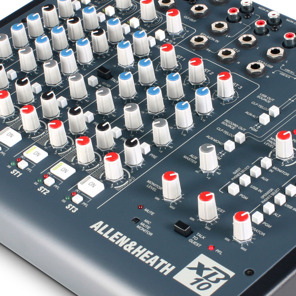Allen and Heath XB-10 Compact Broadcast Mixer