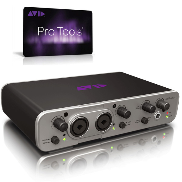 bc945578 Avid Pro Tools 12 Med Gratis Fast Track Solo Audio Interface ...