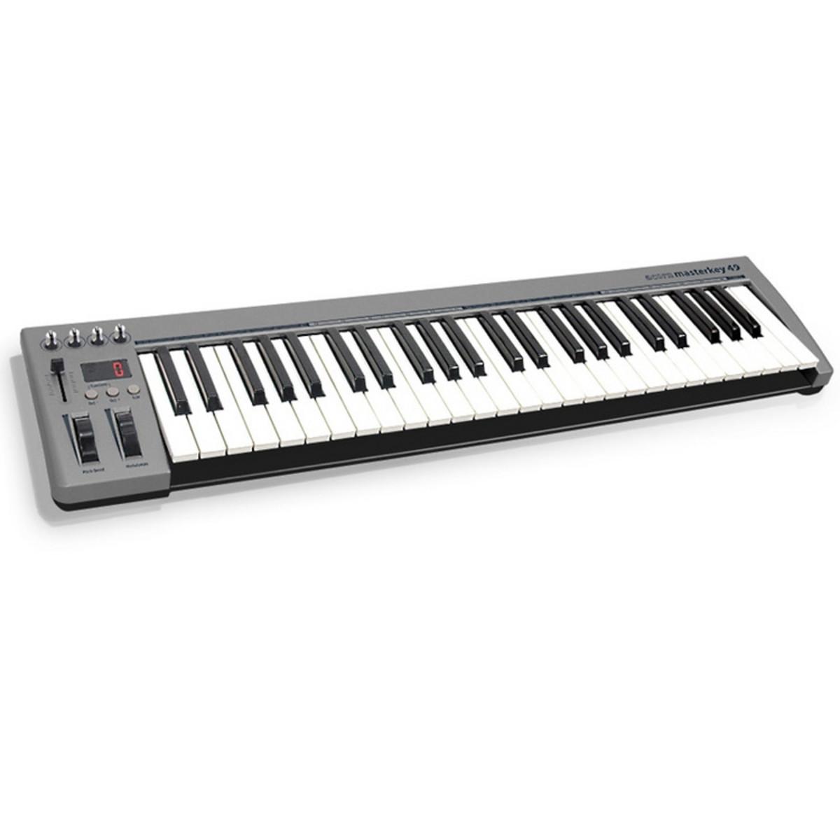 Acorn Instruments Masterkey 49 Key Usb Midi Keyboard Ex
