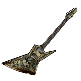 Dean Zero Dave Mustaine Electric Guitar, In Deth We Trust