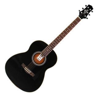 Ashton OM24 Acoustic Guitar, Black