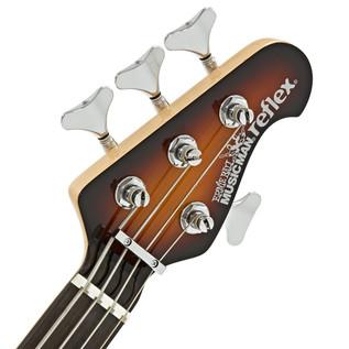 Music Man Reflex H Bass Guitar, RN, Vintage Sunburst