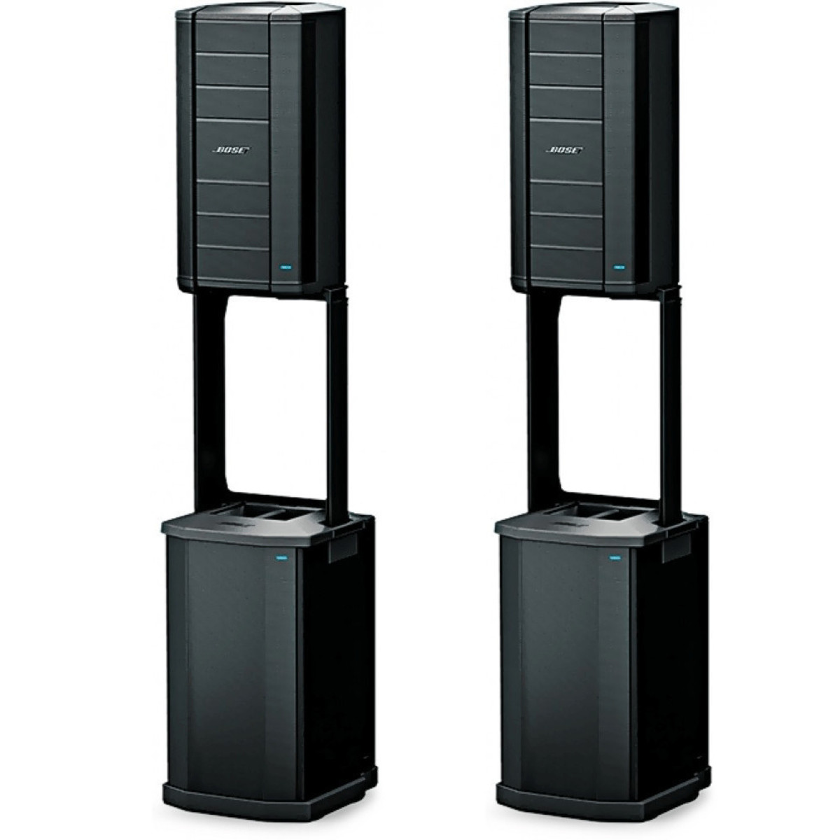 bose f1 flexible array stereo loudspeaker system with f1. Black Bedroom Furniture Sets. Home Design Ideas