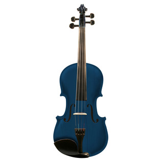 Ashton AV442 Full Size Violin, Blue Burst