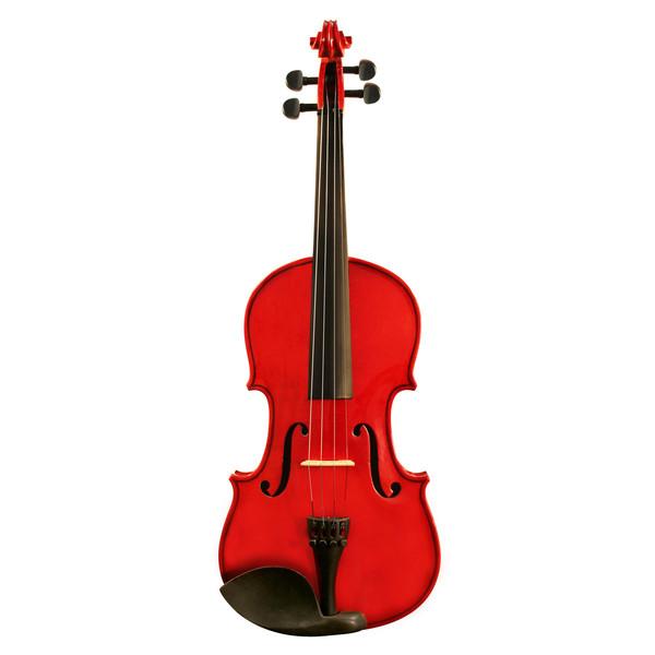 Ashton AV342 3/4 Size Violin, Red