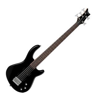 Dean Edge 1 5-String Bass Guitar, Classic Black