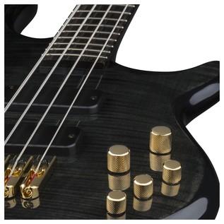 Dean Edge Pro Bass, Trans Black