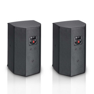 LD Systems 6.5'' Passive Installation Monitor, Black (Pair)