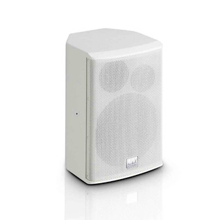 """LD Systems 6.5"""" Active Installation Monitor, White"""