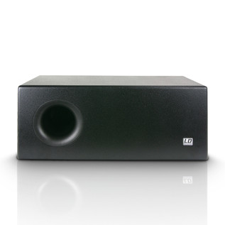 LD Systems 2 x 8'' Active Installation Subwoofer, Black