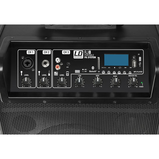 LD Systems RoadJack 8 Portable PA Loudspeaker with Mixer + Bluetooth