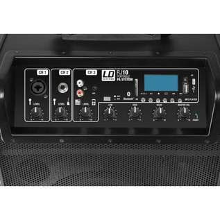 LD Systems RoadJack 10 Portable PA Loudspeaker with Mixer + Bluetooth