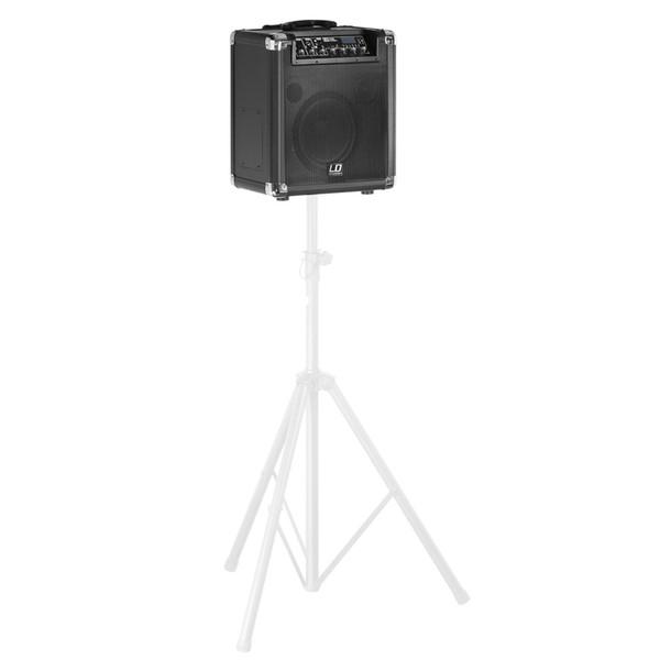 LD Systems RoadJack 10 Portable PA Loudspeaker Pole Mounted