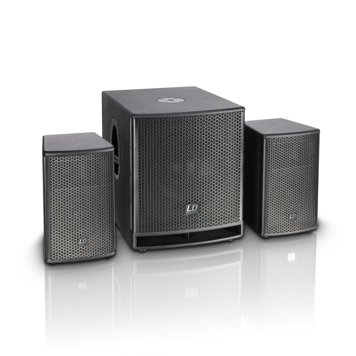 ld systems dave10g3 compact 10 39 39 active pa system at. Black Bedroom Furniture Sets. Home Design Ideas