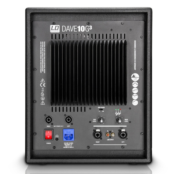 LD Systems DAVE10G3 Compact 10'' Active PA System
