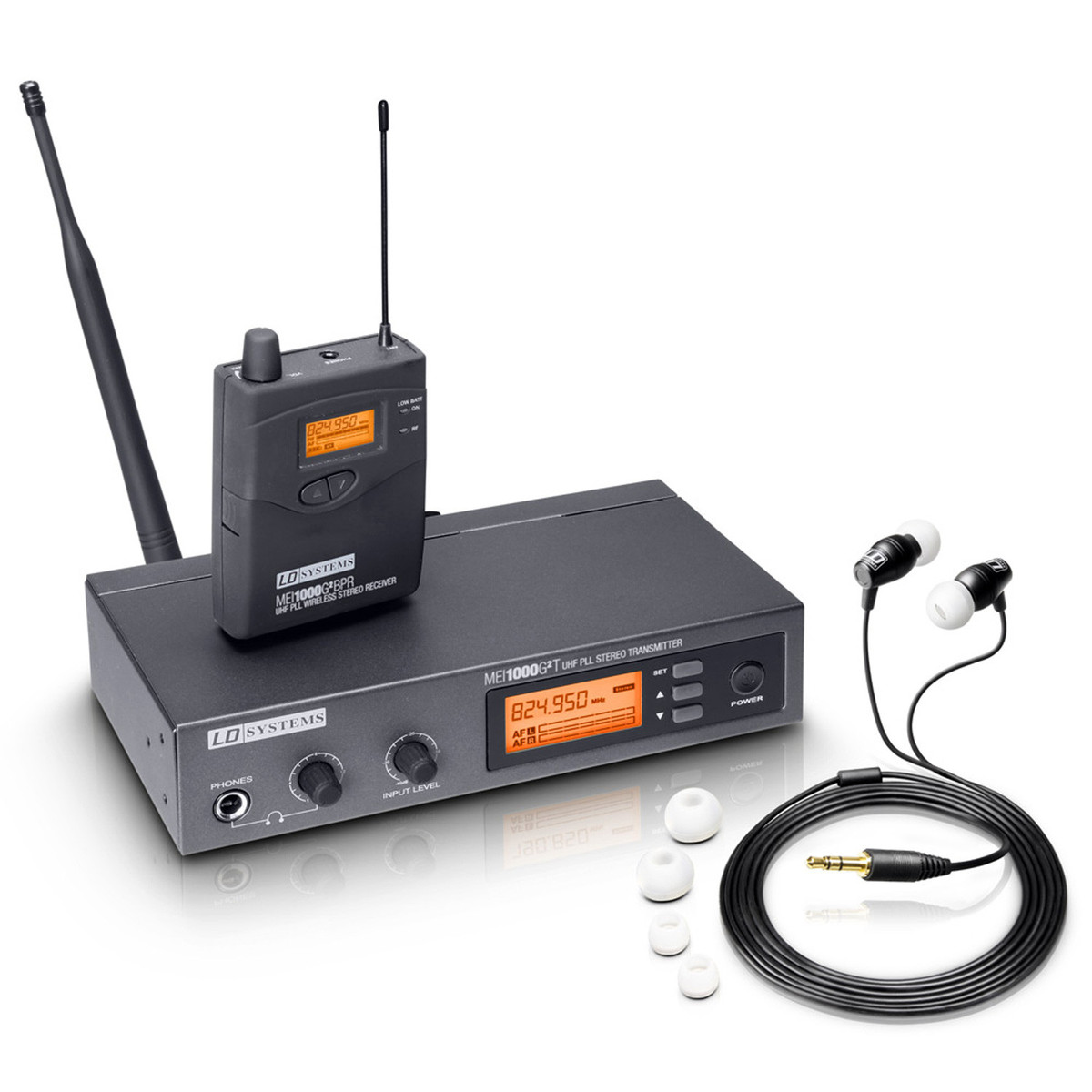 ld systems mei1000g2 in ear monitoring wireless system at gear4music. Black Bedroom Furniture Sets. Home Design Ideas