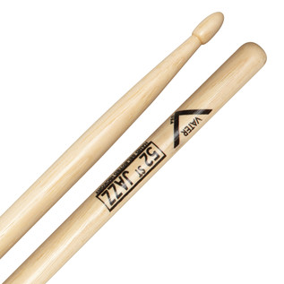 Vater Hickory 52nd Street Jazz Wood Tip Drum Sticks