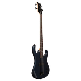 Dean Zone Bass Guitar, Metallic Blue