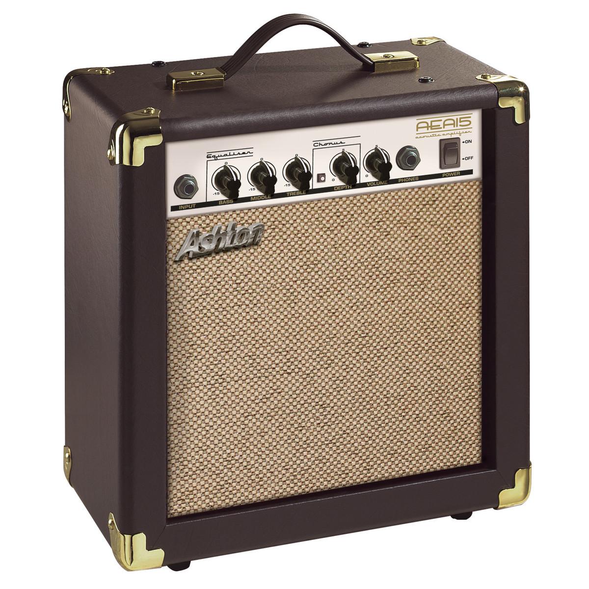 ashton aea15 acoustic guitar amplifier at gear4music. Black Bedroom Furniture Sets. Home Design Ideas