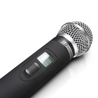 LD Systems Wireless Microphone System with 2 x Dynamic Handheld Microphones