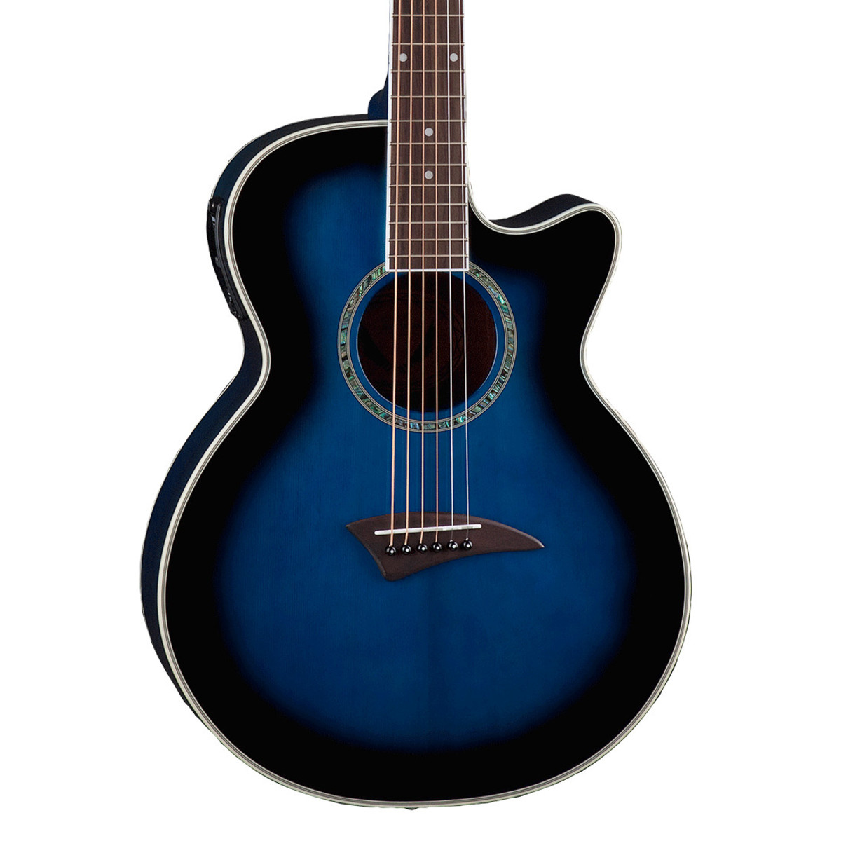 disc dean interpr te guitare acoustique lectrique blue. Black Bedroom Furniture Sets. Home Design Ideas