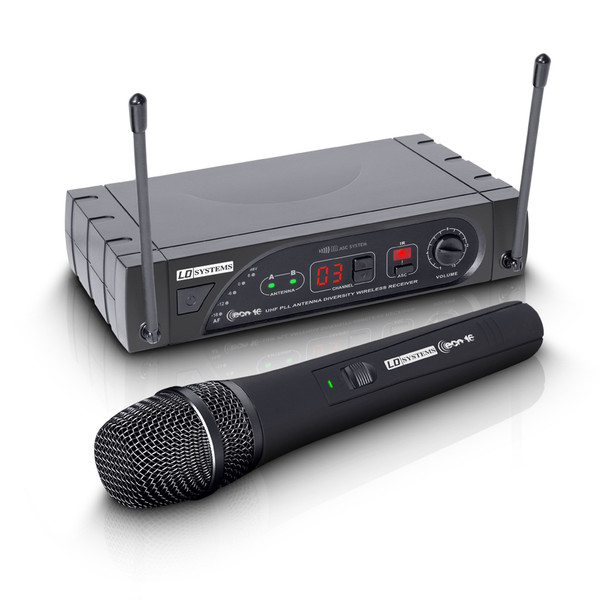 LD Systems Wireless System with Dynamic Handheld Microphone