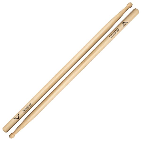 Vater Hickory Power 3A Wood Tip Drumsticks