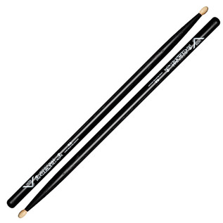 Vater Eternal Black 5A Wood Tip Drumsticks