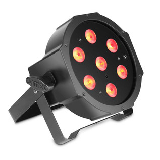 Cameo Tri Colour 7 x 3W LED RGB Flat Par Can