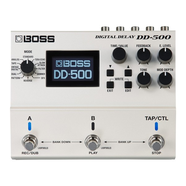 Boss DD-500 Digital Delay Effects Pedal