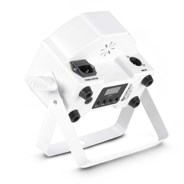 Cameo Tri Colour 7 x 3W LED RGB Flat Par Can, White