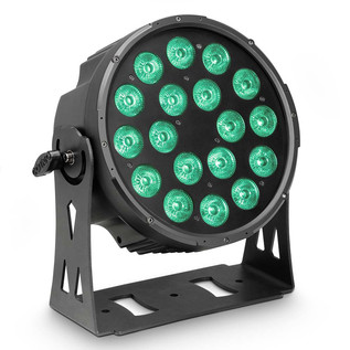 Cameo Flat Pro 18 IP65 18 x 10W RGBWA LED Outdoor Par Light, Black