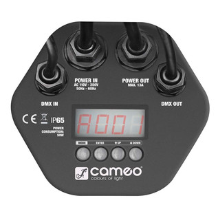 Cameo 12 x 3W Tri-Colour RGB LED Outdoor Par Can