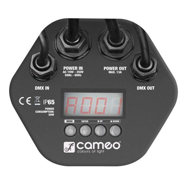 Cameo 12 x 3W Tri-Colour RGB LED Outdoor Par Can