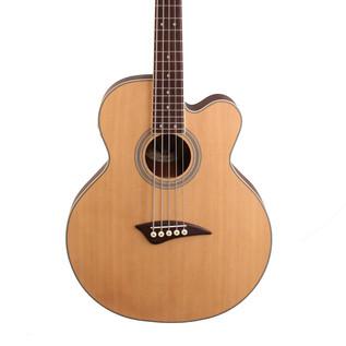 Dean EABC5 5 String Electro Acoustic Bass Guitar, Satin Natural