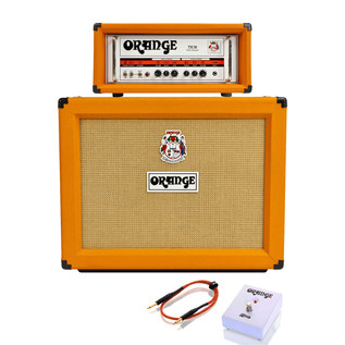 Orange Thunder TH30H Guitar Amp Head + PPC212OB Cabinet Bundle