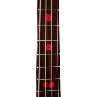 Dean ML Metalman Active EQ Bass Guitar, Classic Black