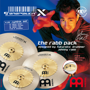 Meinl GX-12/16/18 Generation X The Rabb Pack Cymbal Set