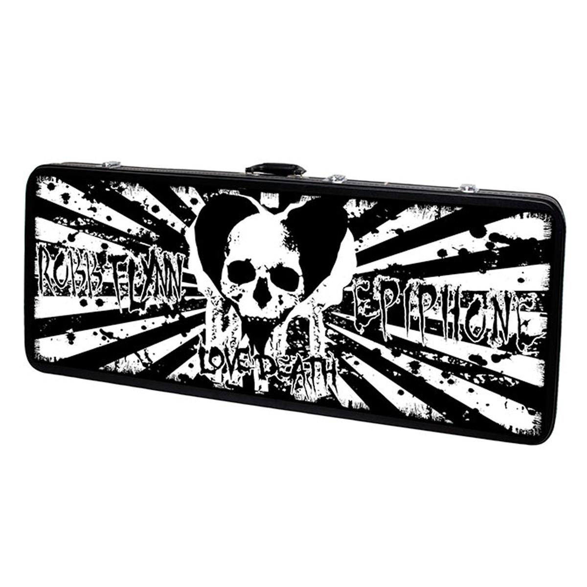 Epiphone Robb Flynn Baritone Flying V Electric Guitar, Love/Death at ...